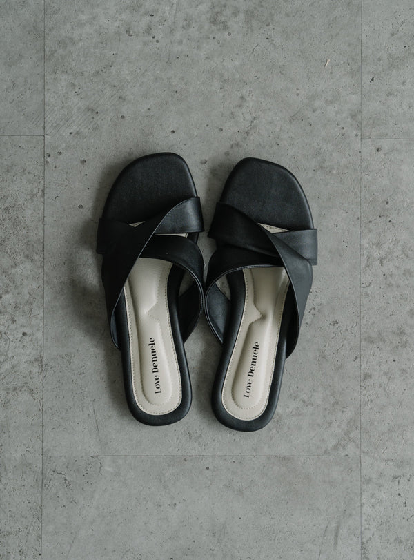 Essential Sandals in Black