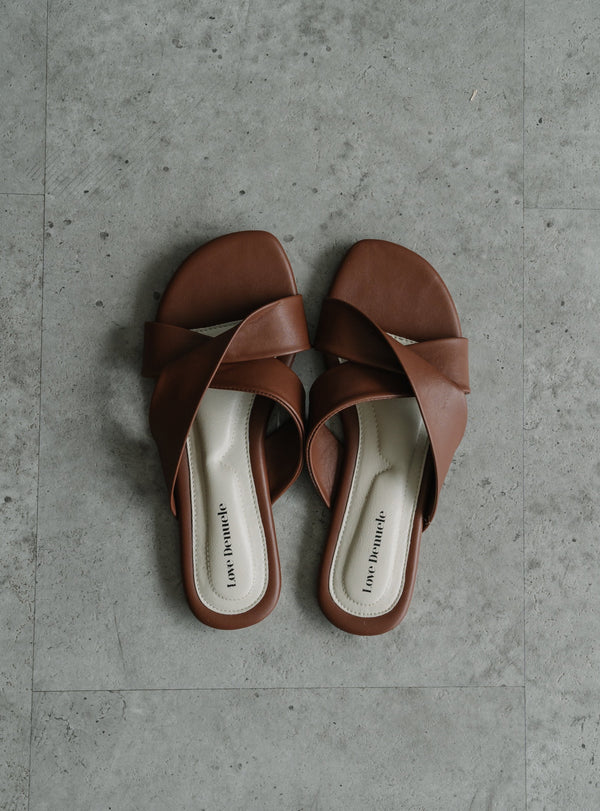 Essential Sandals in Tan