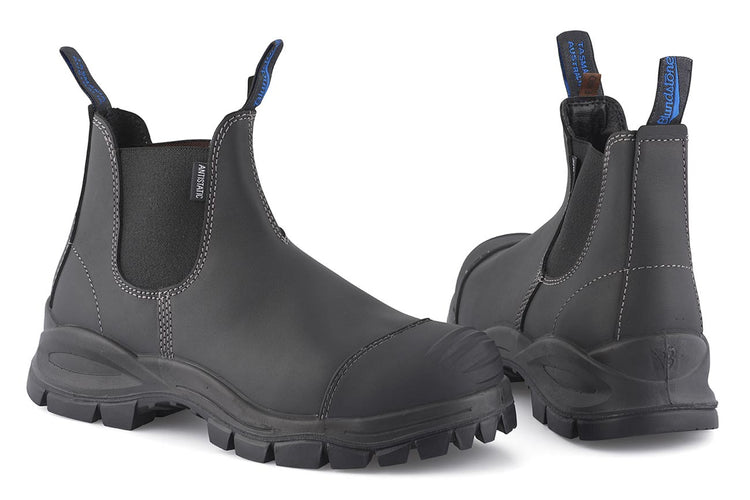 Blundstone #910 Black Platinum Sicherheits