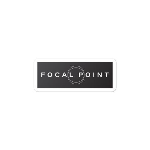 Focal Point Sticker