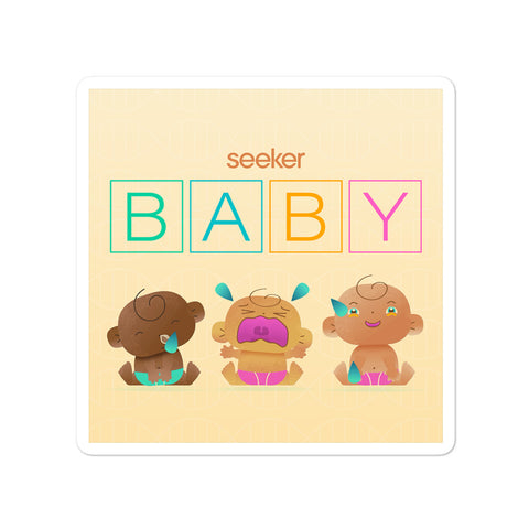 Seeker Baby Sticker