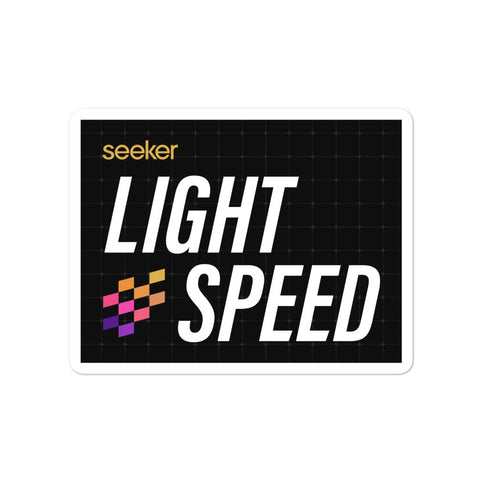 Light Speed Sticker