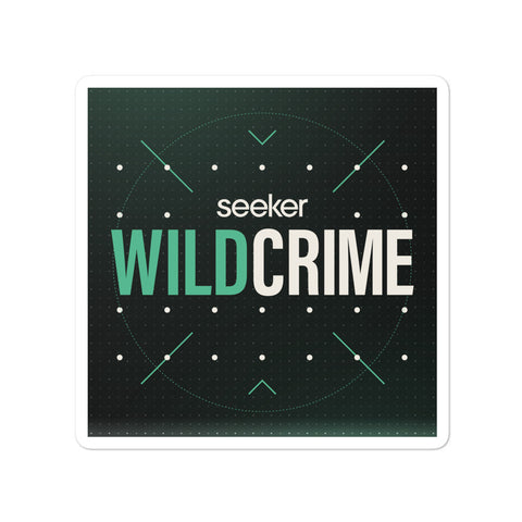Wild Crime Sticker