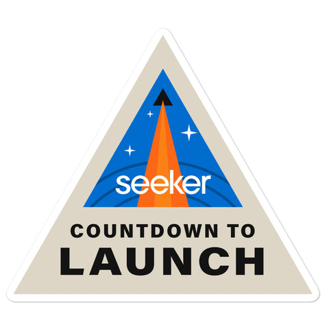 Countdown To Launch Sticker