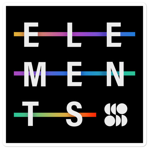 Elements Sticker