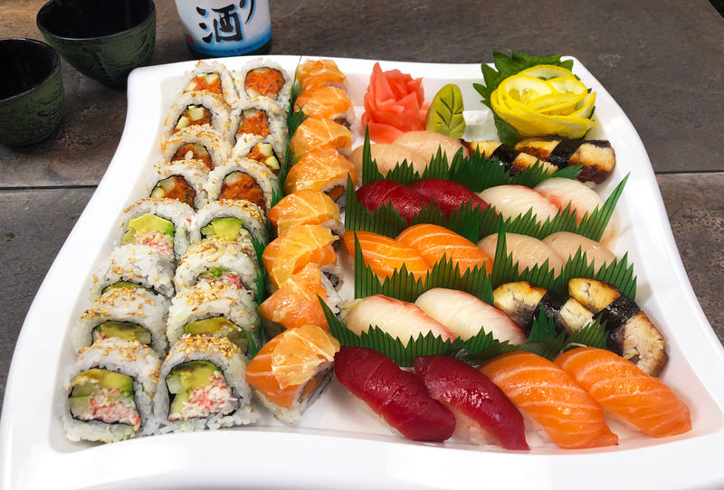 "The ""Get Twogether"" Sushi & Rolls Combo"