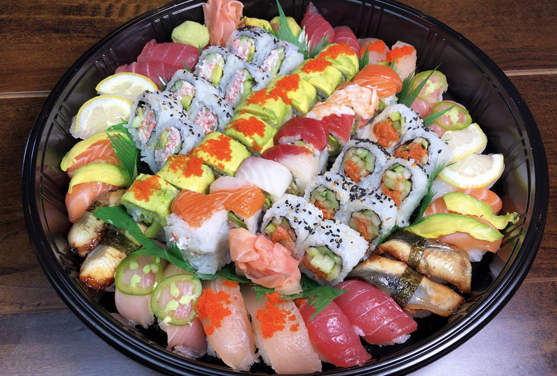 "The ""Happy Family"" Sushi & Rolls Combo Platter"