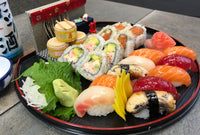 "The ""Single"" Sushi & Rolls Combo Plate"