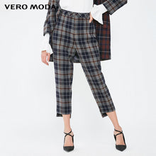 Load image into Gallery viewer, Vero Moda Women's OL Style Plaid Capri Pants | 31916J514