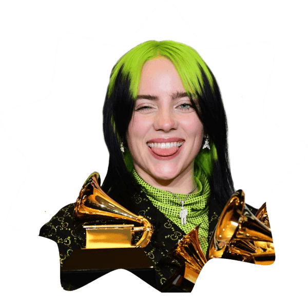"Billie Eilish <small style=""display:block"">Singer/Songwriter</small>"