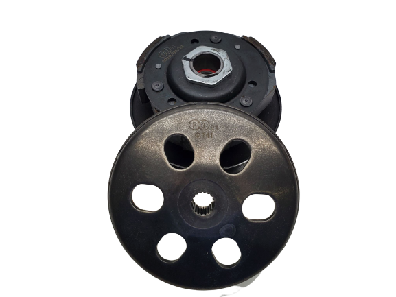 COMPLETE DRIVEN PULLEY ASSEMBLY (REAR CLUTCH)