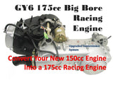 BDX GY6 175CC POWER UPGRADE OPTION