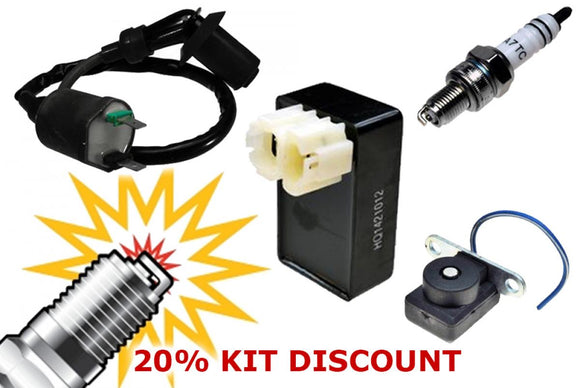 AC Ignition Tune-up Kit (CDI, Coil, Spark Plug, Sensor)