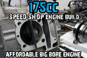 BDX GY6 175CC BIG BORE POWER RACING ENGINE-GUARANTEED FIT