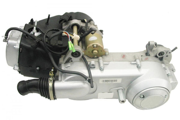 YELLOW CROSSFIREE GY6 150CC BUGGY ENGINE WITH PERFORMANCE TRANSMISSION--GUARANTEED FIT