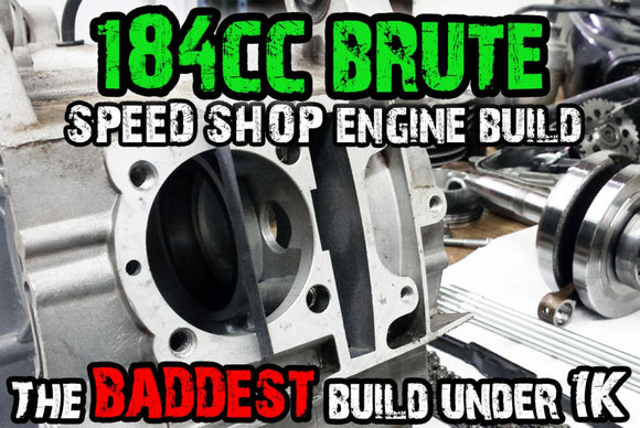 184CC BRUTE FORCE POWER RACING ENGINE