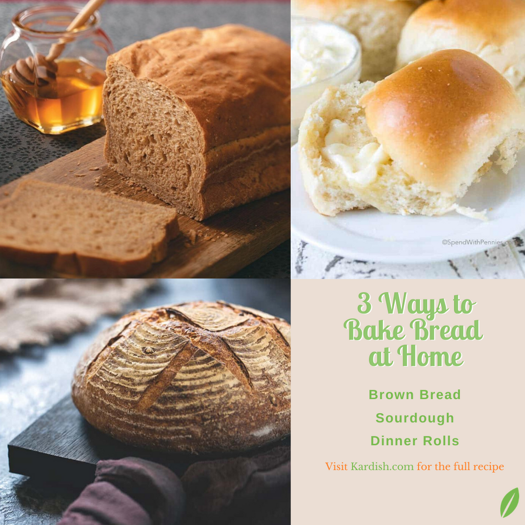 3 Ways to Bake Bread
