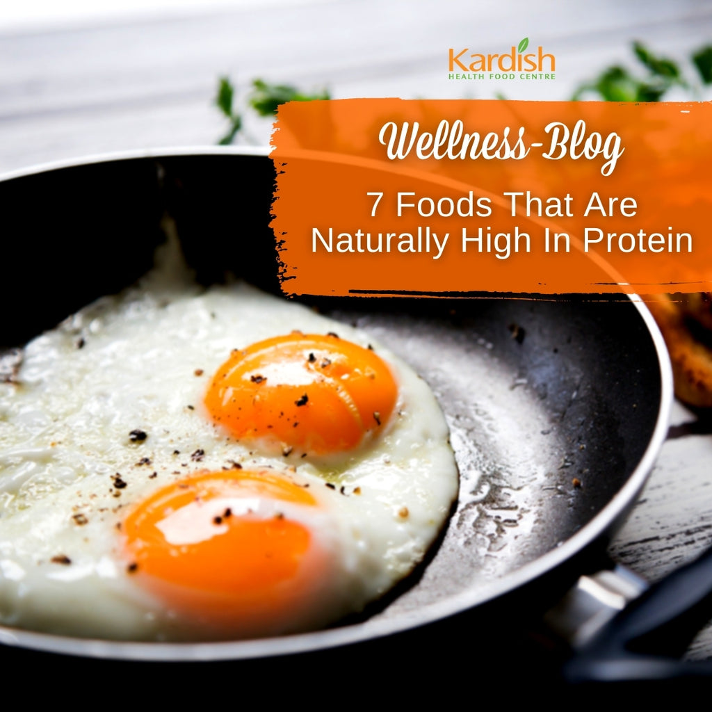 Foods That Are Naturally High In Protein