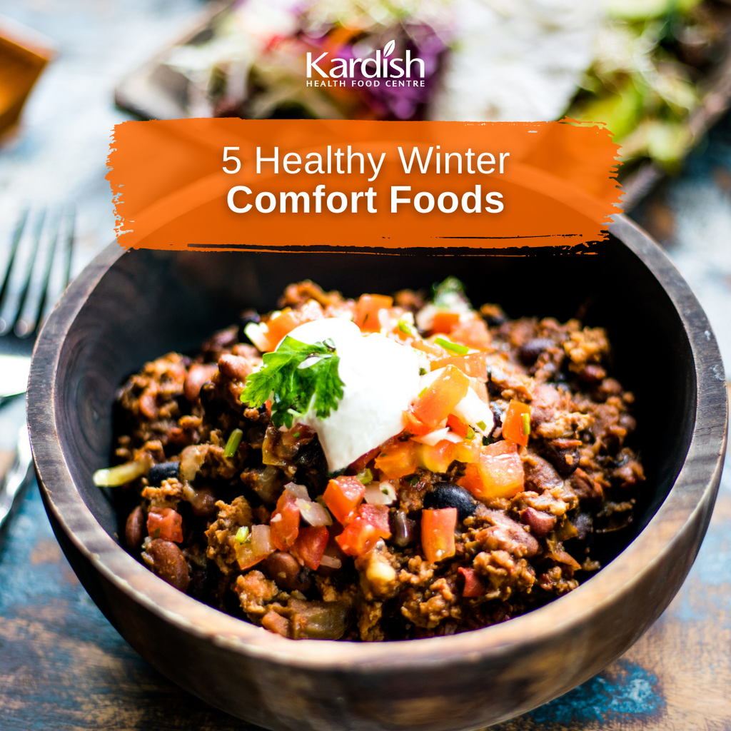 5 Healthy Winter Comfort Foods