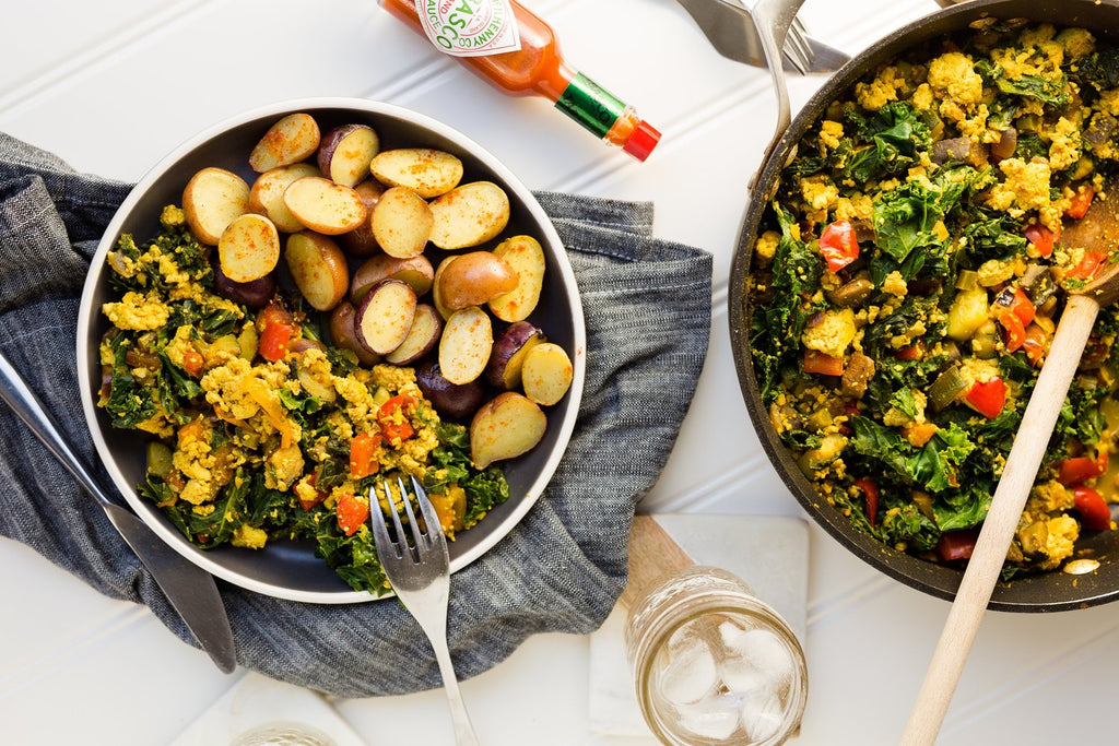 Amy Longard's Go-To Tofu Scramble