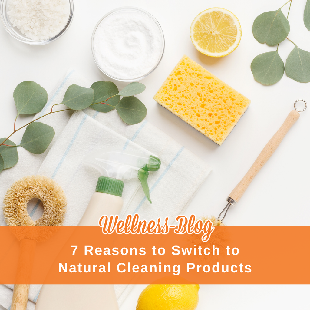7 Reasons to Switch to Natural Cleaning Products