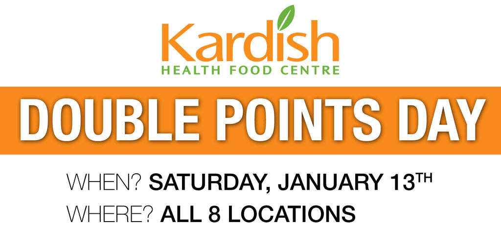 Join us for our Double Points Day!