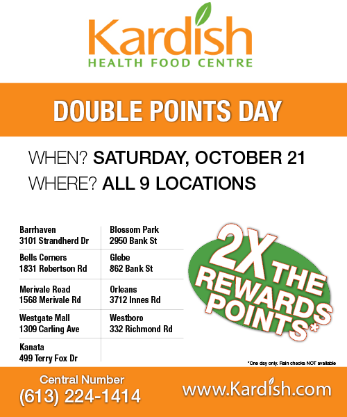 Double Points Event!