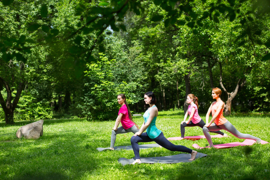 Taking Your Yoga Practice Outside this Summer