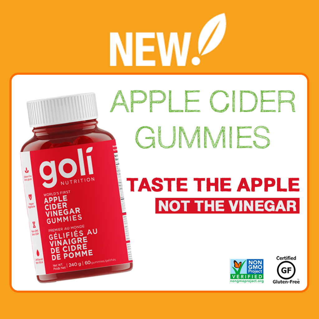 NEW: Goli - Apple Cider Vinegar Gummies