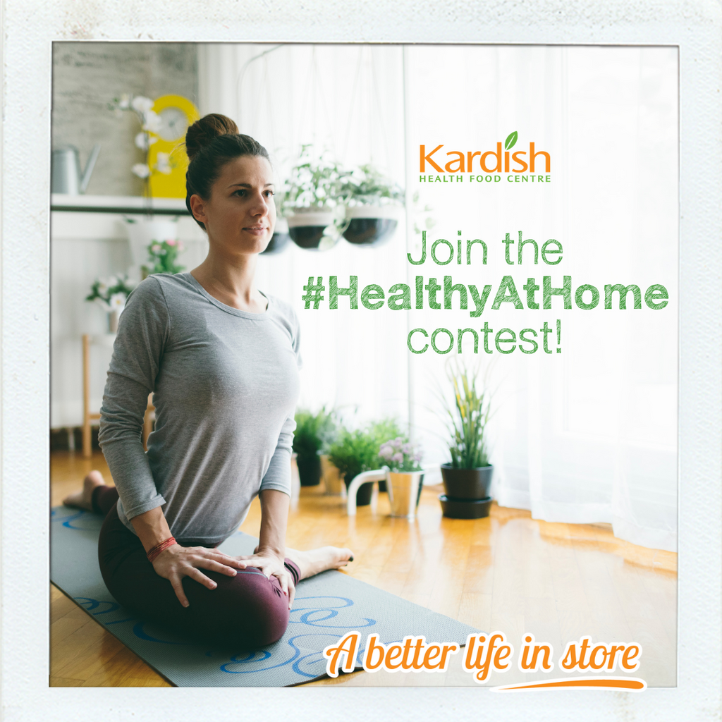 Healthy At Home Contest