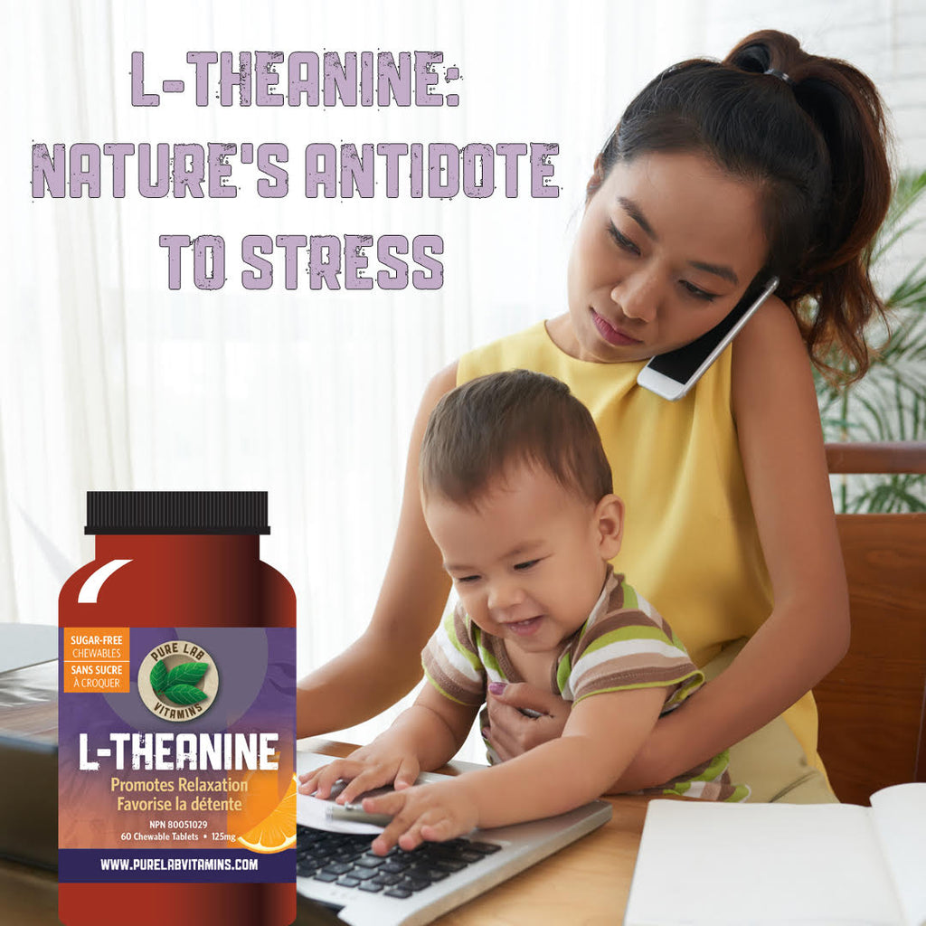 L-Theanine: Nature's Antidote to Stress