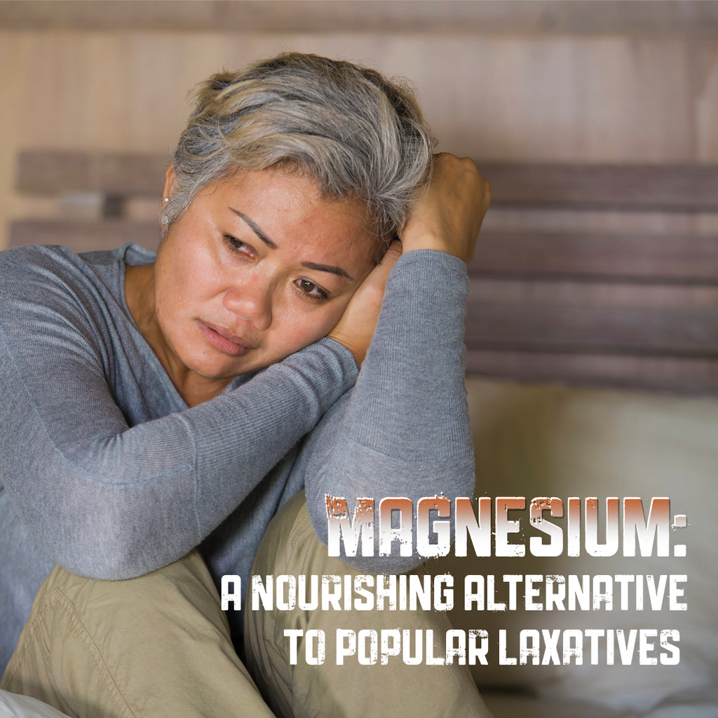 Magnesium: A Nourishing Alternative to Laxatives