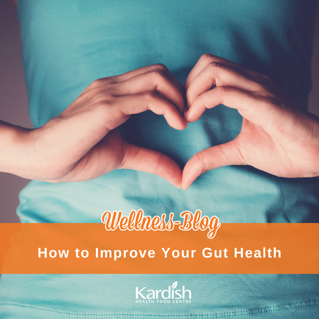 Simple steps to improve your gut health