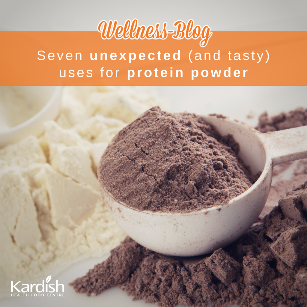 Seven unexpected (and tasty) uses for protein powder
