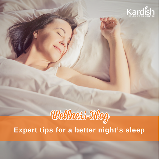 Expert tips for a better night's sleep