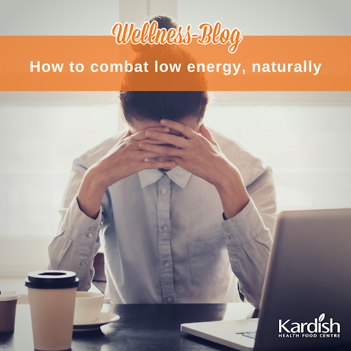 How to combat low energy, naturally