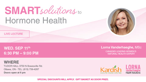 Smart Solutions to Hormone Health with Lorna Vanderhaeghe, MSc