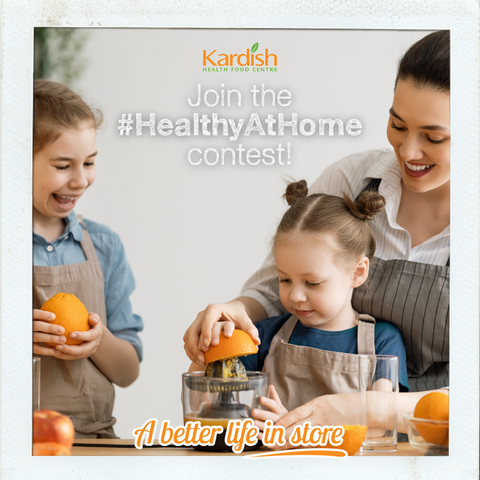 Join the Healthy At Home contest