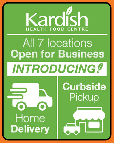 Introducing: Kardish Home Delivery and Curbside Pickup