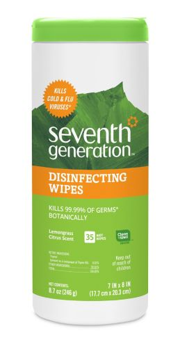 Seventh Generation Disinfecting Wipes 35ct