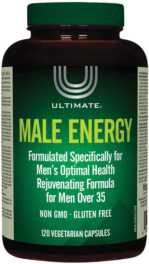 Brad King Ultimate Male Energy 120caps