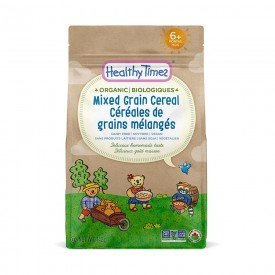 Healthy Times Org Brown Rice Baby Cereal