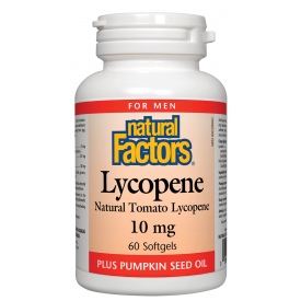 Natural Factors Lycopene 10mg