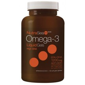 NutraSea Omega-3 DHA 2x Concentrated Fresh Mint