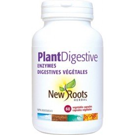 New Roots Plant Digestive Enzymes 375mg