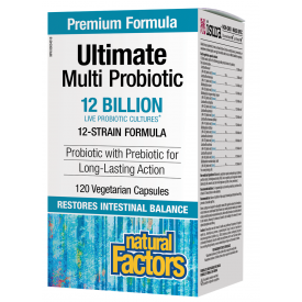 Natural Factors Ultimate Probiotic 12 billion