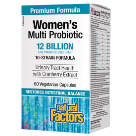 Natural Factors Multi Probiotic Women's Formula 12 billion