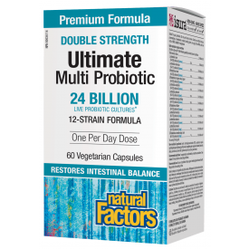 Natural Factors Ultimate Probiotic Multi Double Strength