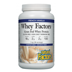 Natural Factors Whey Factors French Vanilla