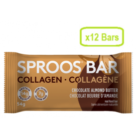 Sproos Collagen Bars Chocolate Almond Butter